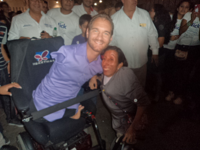 Nick Vujicic &amp; Princesade Dios