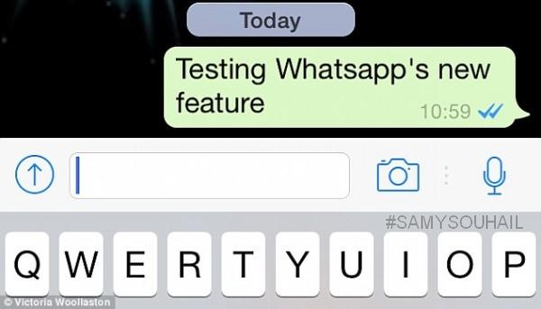 """ميزة إضافية جديدة من """"Whatsapp"""" لمعرفة متى قُرأت رسالتك"""