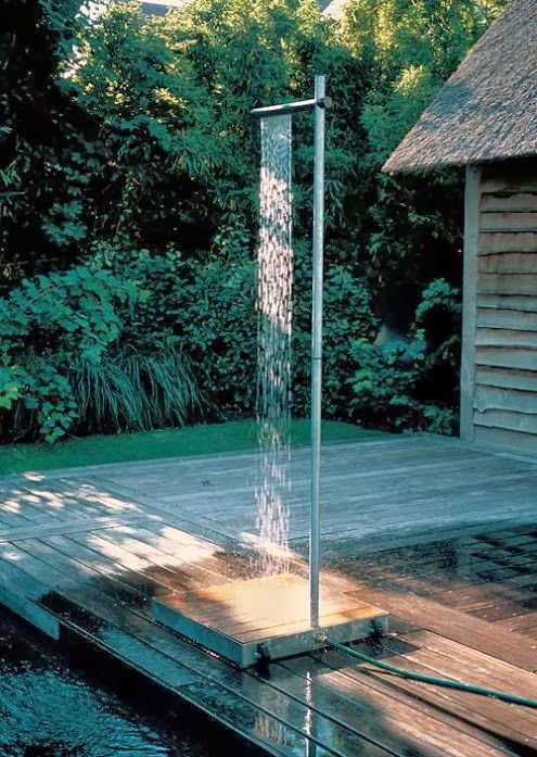 15 Coolest and Awesome Outdoor Shower Designs