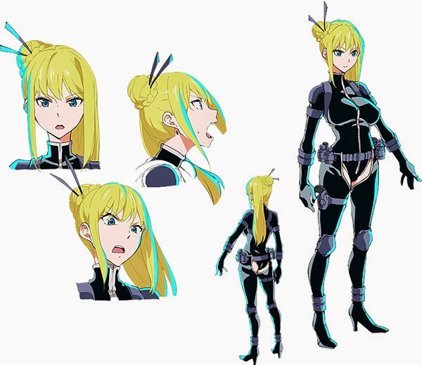 pic chara 04 Reveladas as personagens femininas de Ninja Slayer