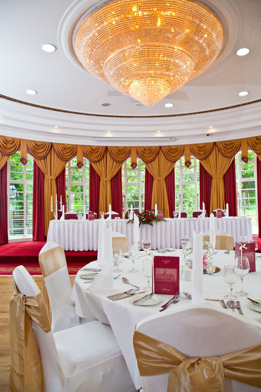 Lucan Spa Hotel All Inclusive Wedding Package