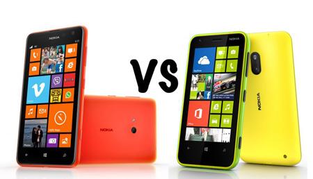 Nokia Lumia 620 và Nokia Lumia 625