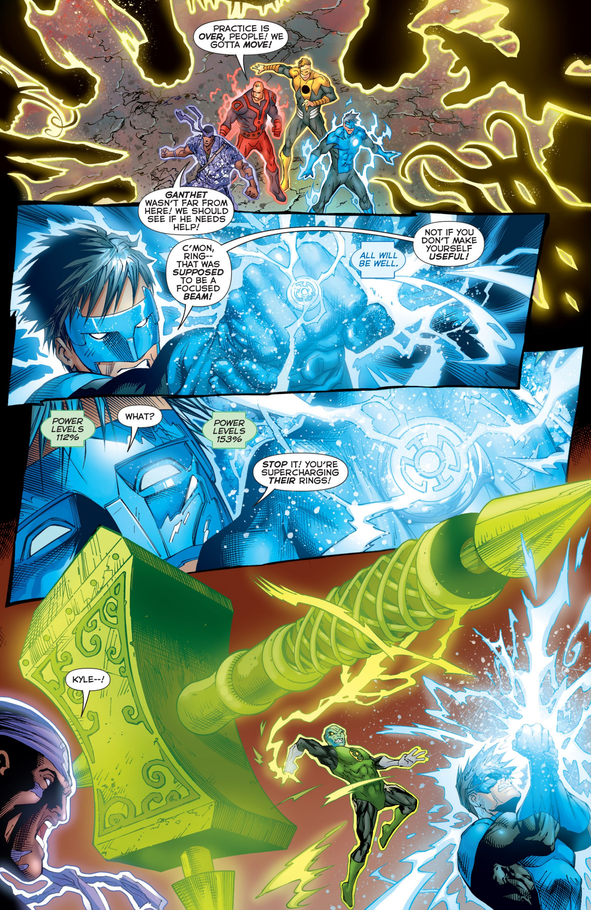 Read online Green Lantern Corps (2006) comic -  Issue #59 - 11