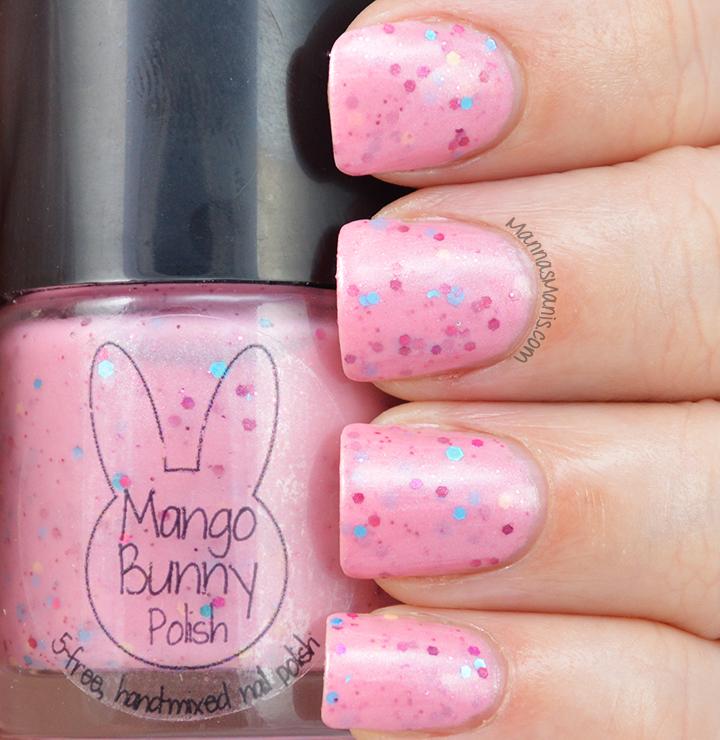 Mango Bunny Pony Palooza Pinkie Sense swatches