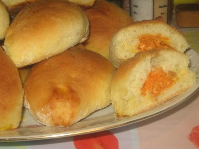 Пирожки с морковкой в духовке рецепт с пошагово