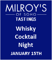 Milroy's Whisky Cocktail Night