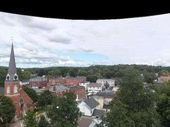 Panoramic View Of Farmington NH
