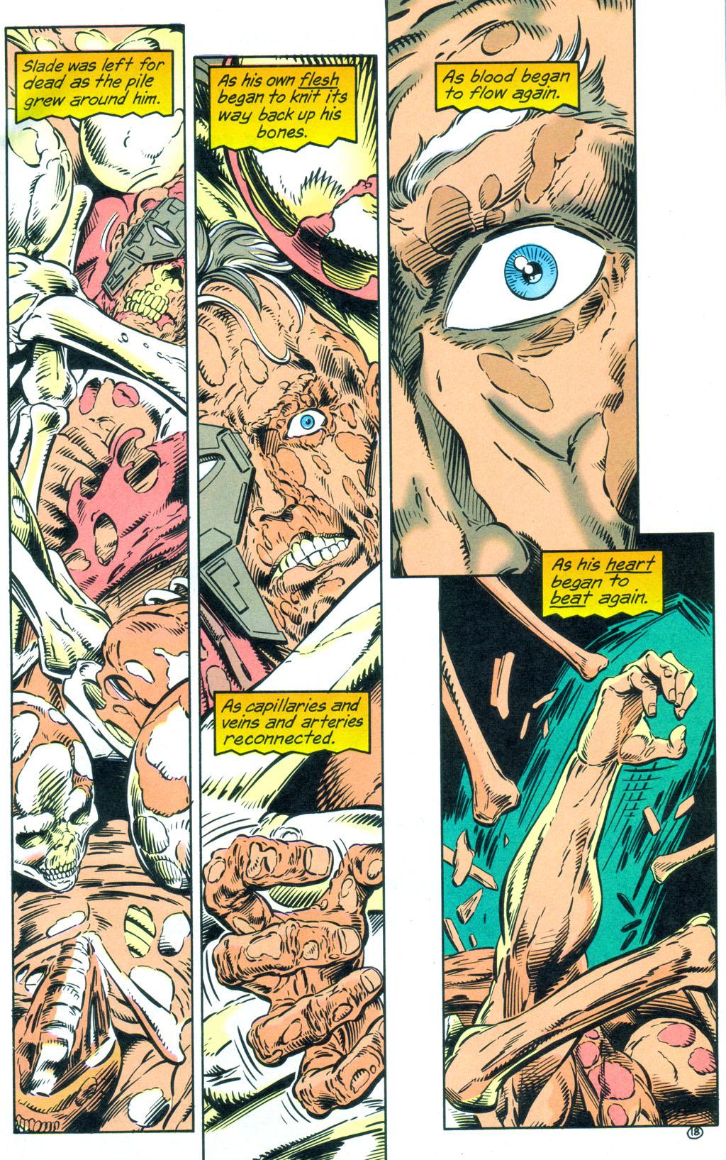 Deathstroke (1991) Annual 3 #3 - English 19