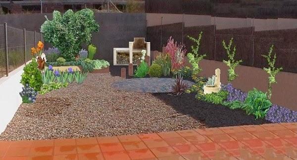 Dise o de un jard n trasero guia de jardin for Como disenar mi jardin