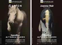 PARIS XVII : LA GALERIE COURCELLES ART CONTEMPORAIN PRÉSENTE C A P T O N et Joanna HAIR