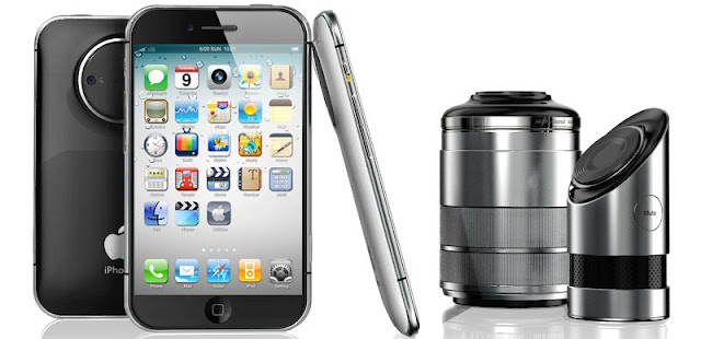 iPhone PRO Concept with 3D camera and 4.4-inch Screan