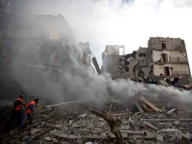 Israel Gencarkan Serangan ke Gaza