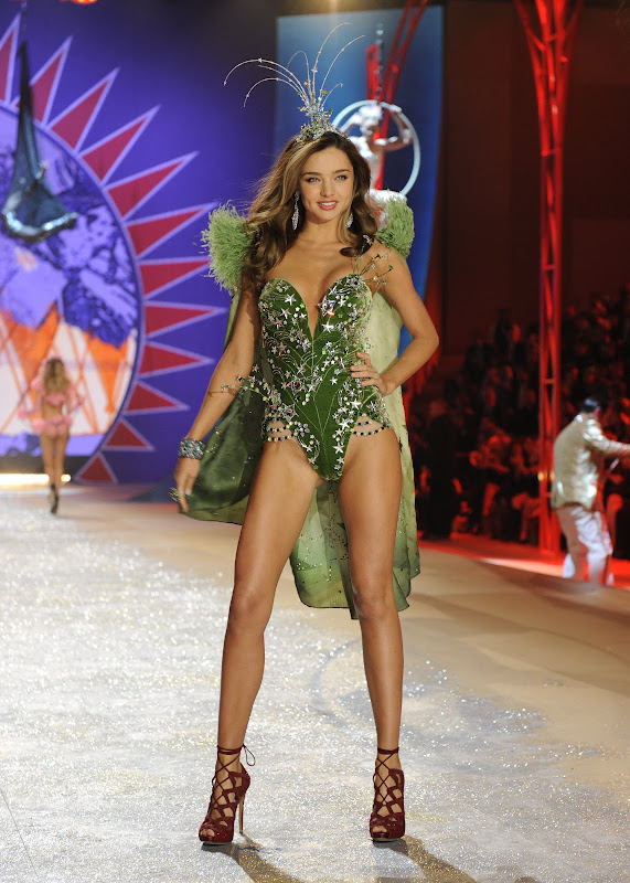Miranda Kerr at 2012 Victoria's Secret Fashion Show in New York