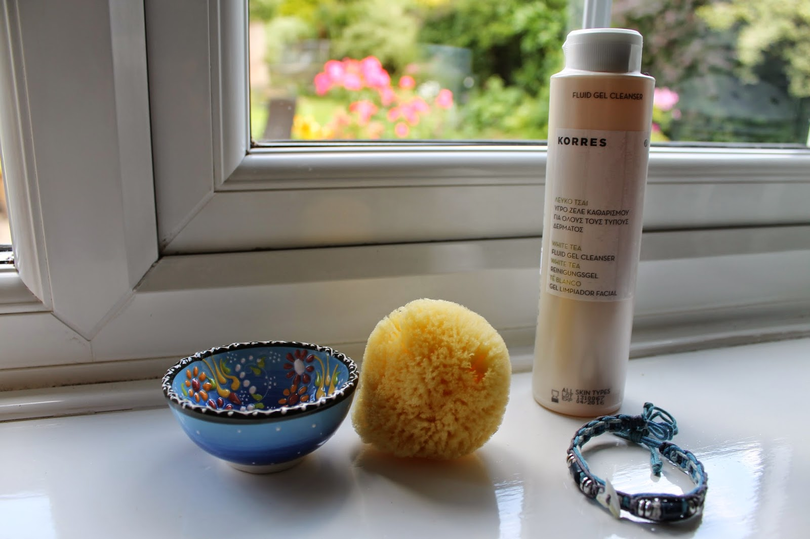 Rhodes Holiday Haul: Bowl, Sponge, Cleanser, Bracelet