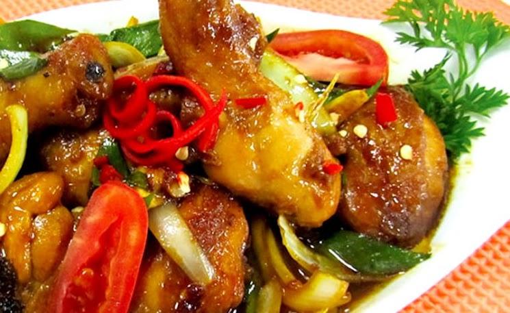 Resep Ayam Kecap Pedas Lezat