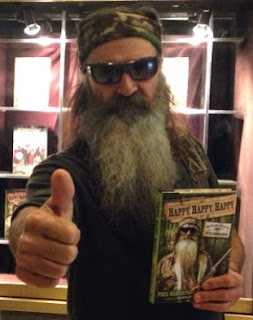 "Phil Robertson is ""Happy Happy Happy"""
