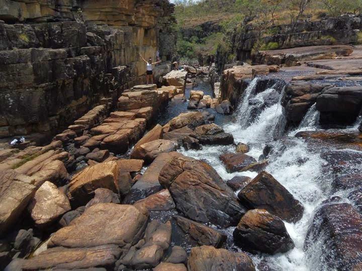Canyon I no Parque Nacional da Chapada dos Veadeiros, chegada somente com guia