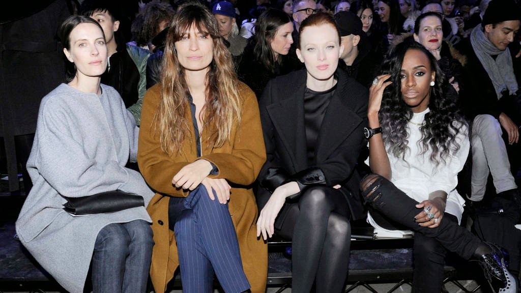 alexander wang front row gt fashion diary