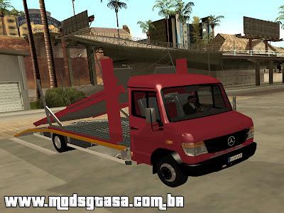 Mercedes-Benz Vario Tractari para GTA San Andreas