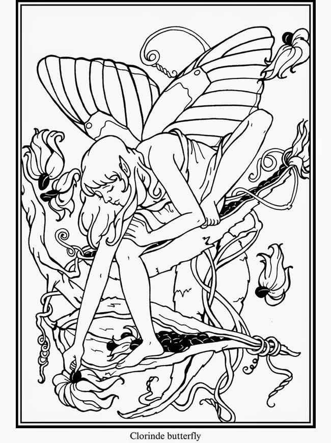 EXPOSE HOMELESSNESS: BUTTERFLY FAIRY #5 - COLORING PAGE FOR OUR ...