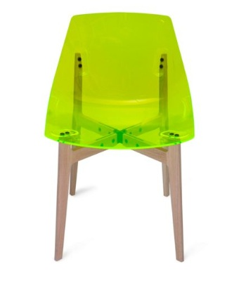 It looks lit up but its just how the light catches this neon plastic (you really have to see it in person). Cool or tacky? Would it be an artsy piece in ...  sc 1 st  Design Post Interiors & would you...neon chairs? - Design Post Interiors
