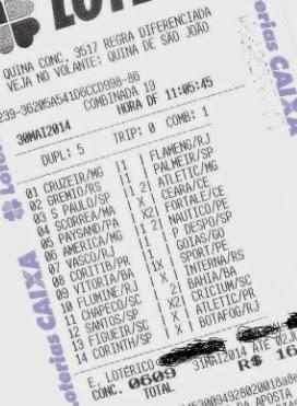 DRAGOLINO DO FLORENÇA - LOTECA 609