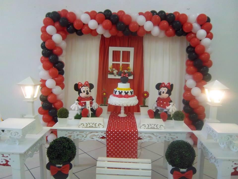 Ateliê de Sonhos Decoração Provençal  Minnie Vermelha