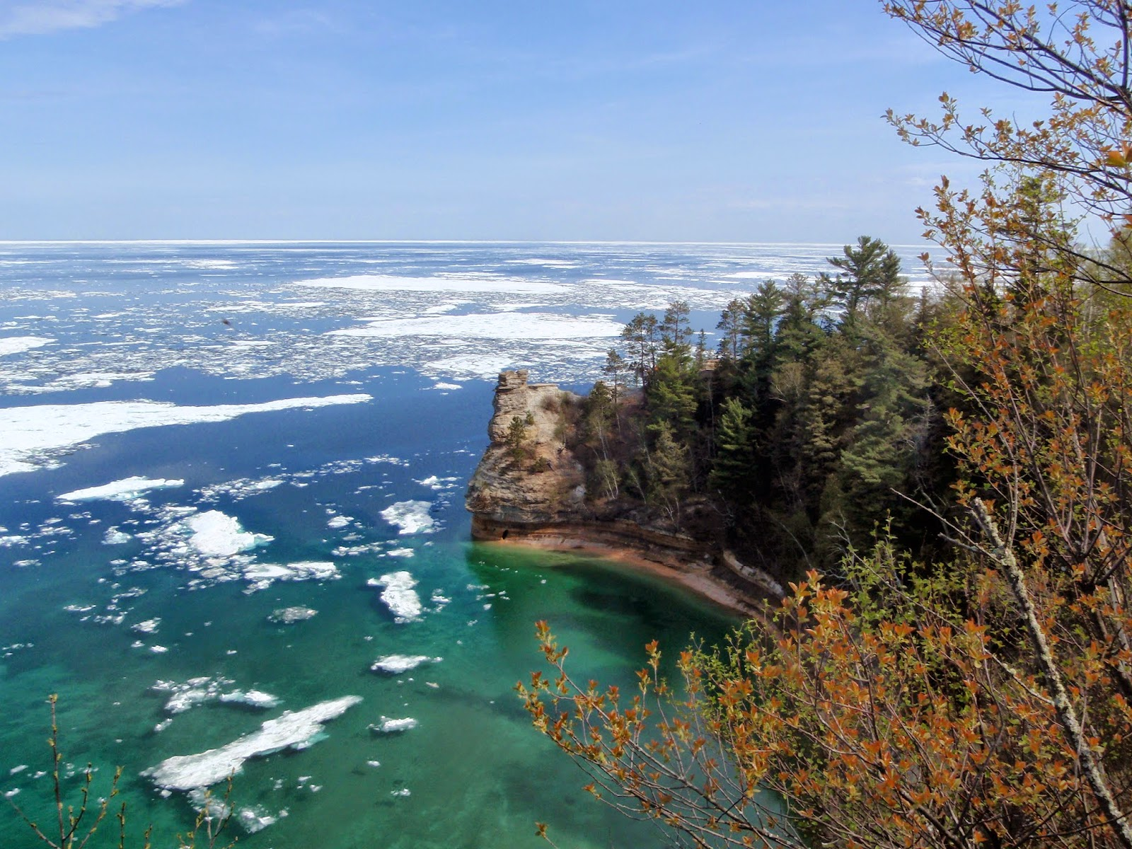 Miners Castle, Pictured Rocks National Lakeshore, Munising MI