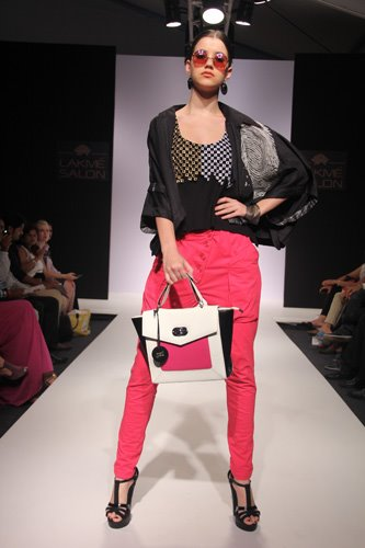 For Patola at Lakme Fashion Week