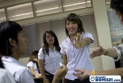 Pelajar Sekolah Di Thailand