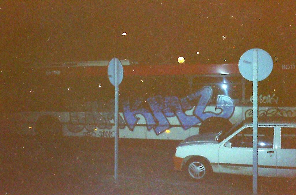 Graffiti Barcelona autobús