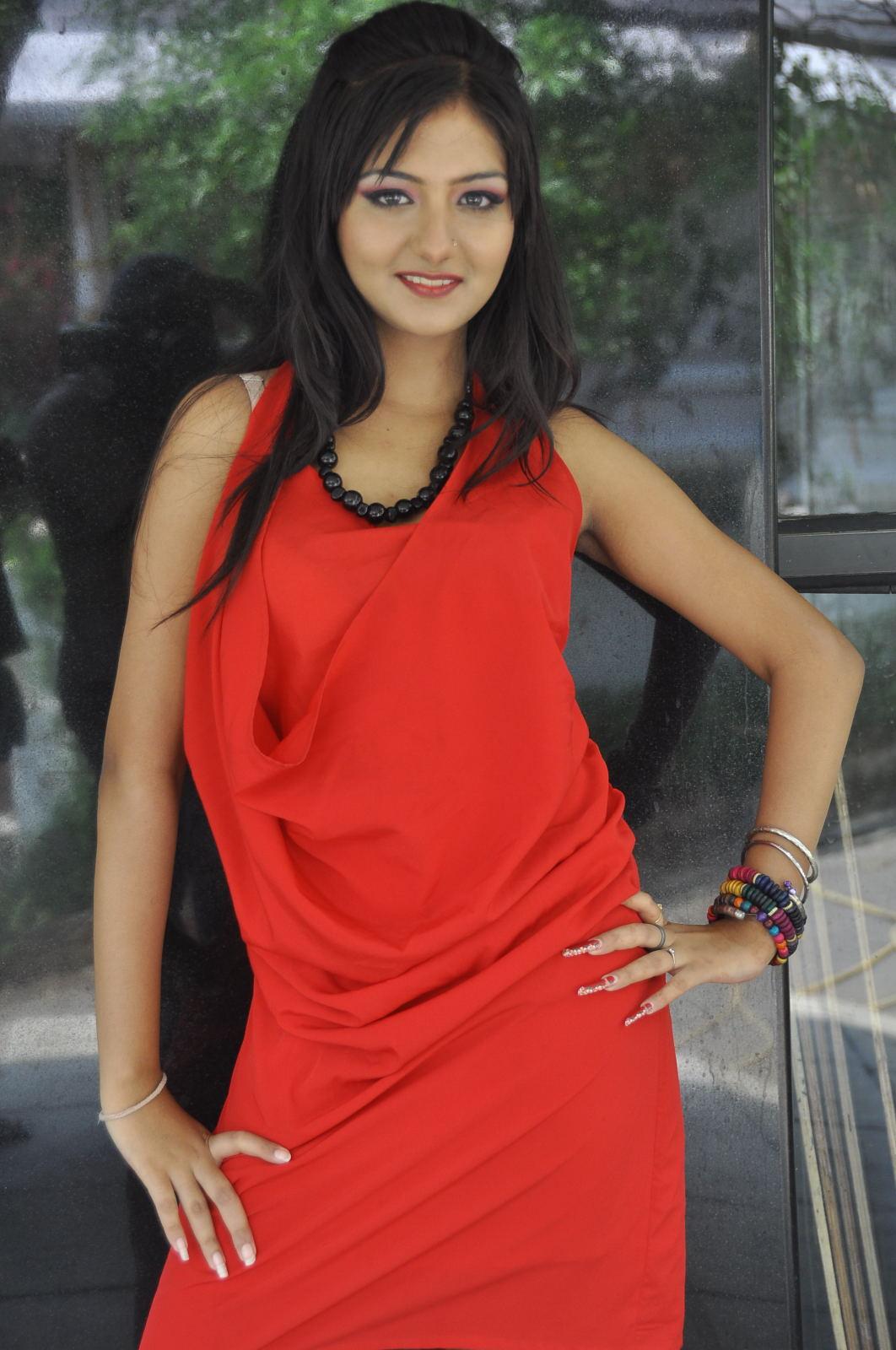 Red hot sexy exotic beauty Kushi mukerjee photos at donga prema movie opening