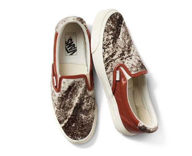 Slip On 59 Vans by Vault poney pront