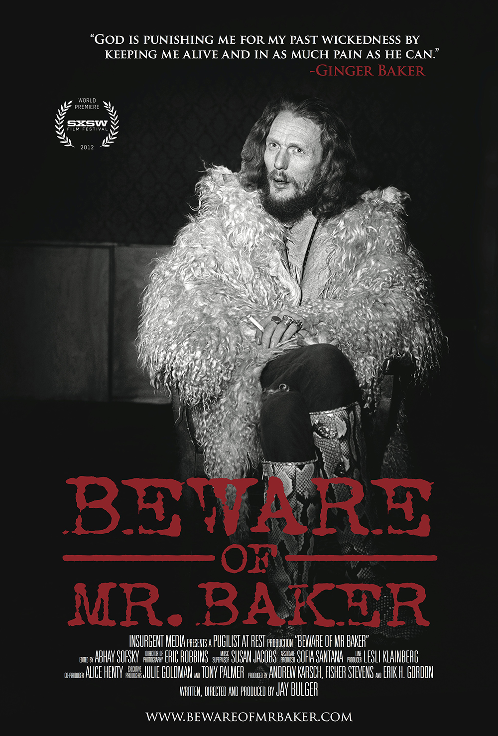 Watch Beware of Mr. Baker Movie Online Free 2012
