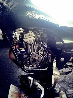 Modenas Jaguh 175 - One-way Roller Clutch Bearing