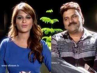 Cine Star Sameer in Kathi Karthika Show