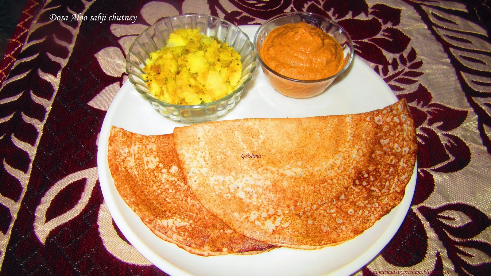how to make dosa chutney