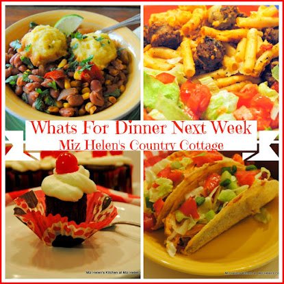 Whats For Dinner Next Week 11-27-16 to 12-3-16