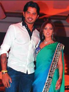 Sreesanth was often the star during his many social appearances