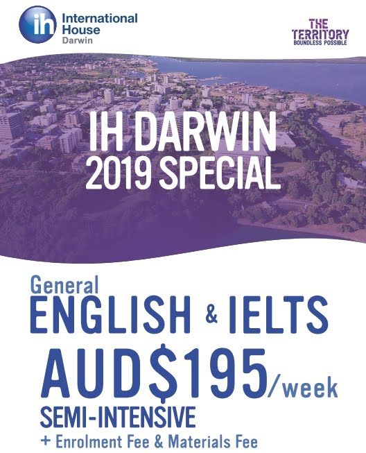 โปรโมชั่นเรียนภาษา เมือง Darwin ประเทศออสเตรเลีย หมดเขต 31 ธค 62