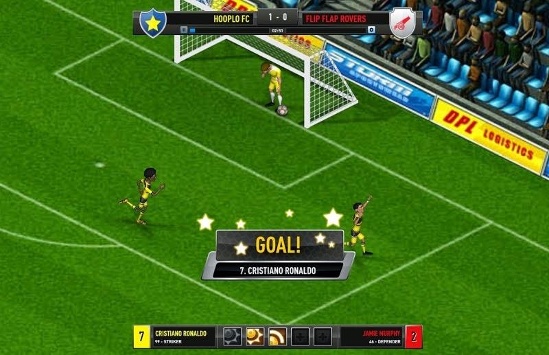صور من داخل لعبة كريستيانو رونالدو Cristiano Ronaldo Footy