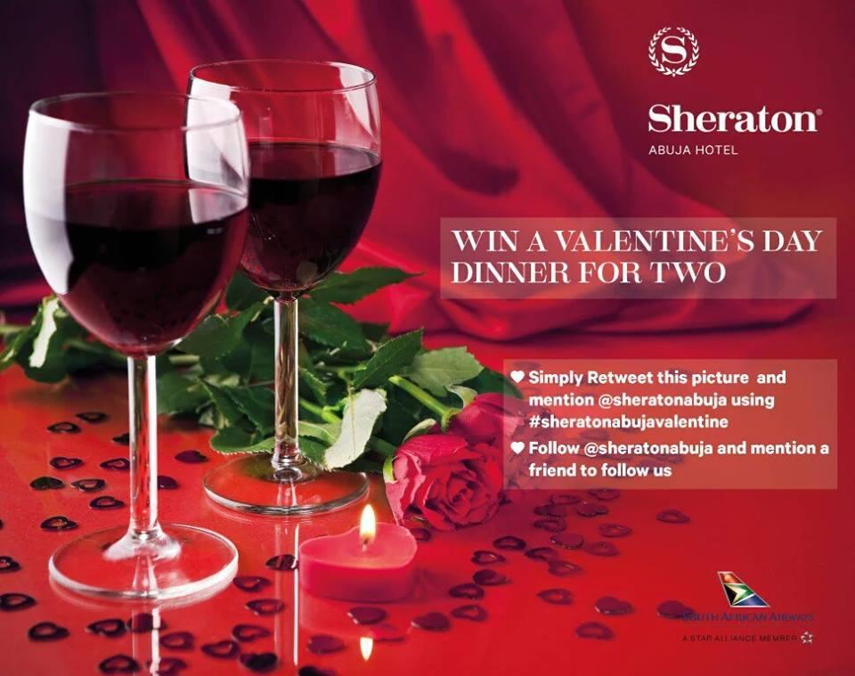 Sheraton Abuja's Socialmedia competition