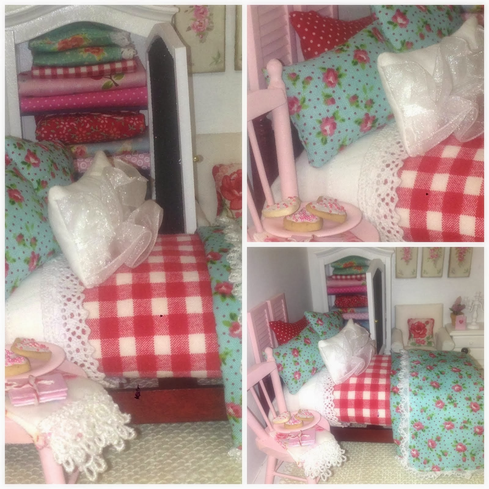Miniature Cottage Style Bedding