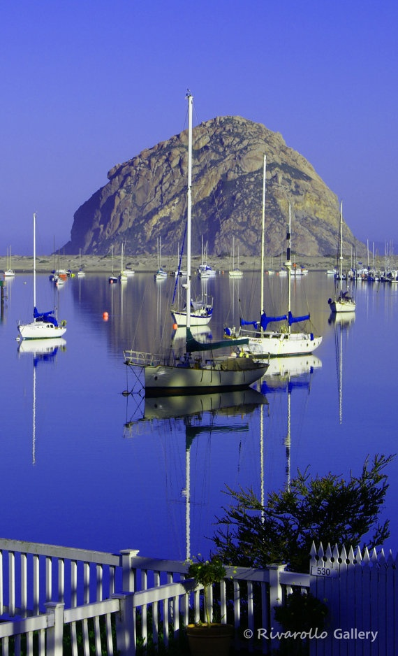 Beautiful Morro Bay, California.