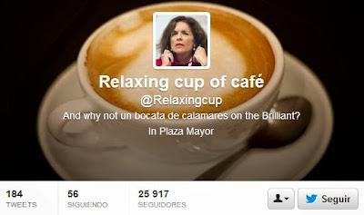 """Más de 26.000 seguidores en la cuenta del """"relaxing cup of café con leche"""""""