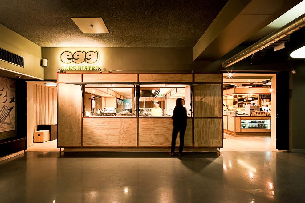 Japanese Cafe Interior Design | Egg Sake Bistro | University of Melbourne  Union | Australia | Architects EAT