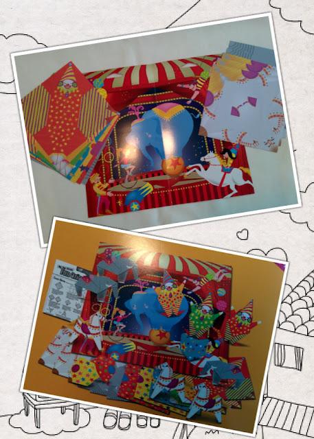 Origami Paper Folding Kit Circus