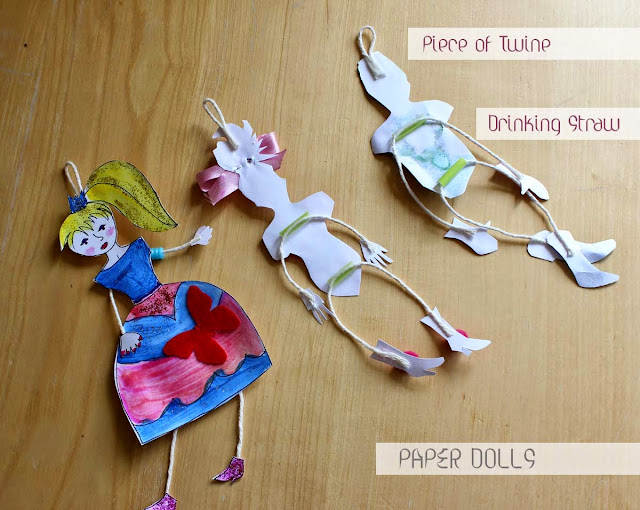 paper dolls, drawing, princesses, paper project, todaymyway.com