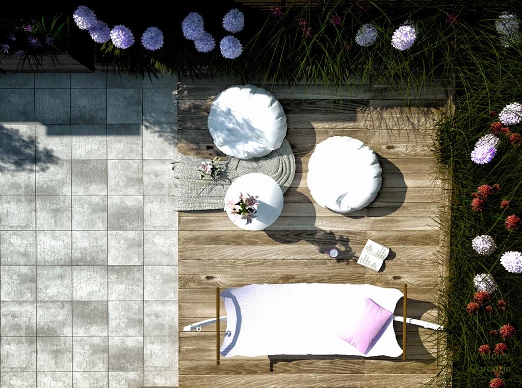 nowoczesne ogrody na dachach