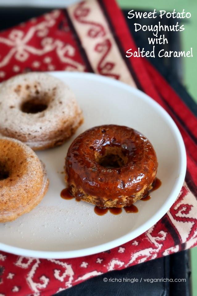 Spiced Vegan Sweet Potato Doughnuts. Recipe - Vegan Richa